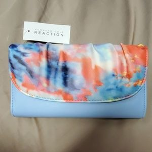 Kenneth Cole reaction blue clutch